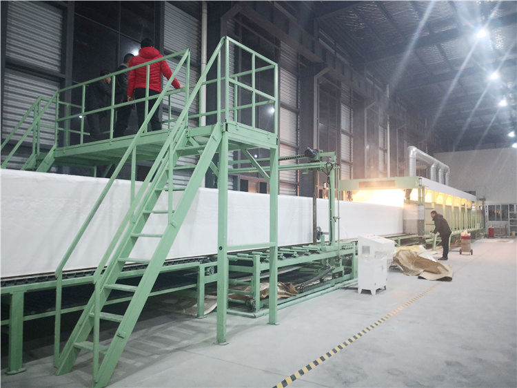 Foaming process of horizontal foaming machine in Jiangsu Province
